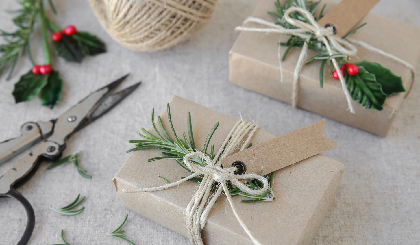 Put the wow in eco-friendly wrapping